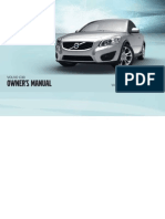 2011 Volvo C30 Owners Manual