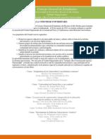 Carta Abierta a Comunidad Universitaria Jornada (3!10!11)