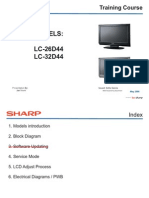 SHARP LC-26D44 & LC32D44 Training Course (English)[1]