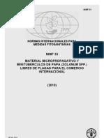 Material micropropagativo y minitubérculos de papa (Solanum spp.) libres de plagas para el comercio internacional