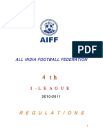 I League - Regulations