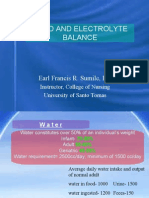 Fluid and Electrolytes, Burns, G.U