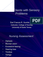 Sensory Problems