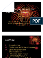 CSOs Engagement for Aid Effectiveness - Don K Marut - INFID [Compatibility Mode]