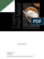 5ingredientsSimpleBakingFREEecookbook