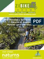 Wellnesshotel Lindenhof in Südtirol - Bike Academy