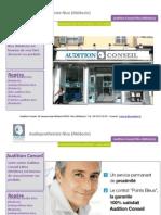 Audioprothesiste Nice Medecin - Audition Conseil Nice (Médecin)