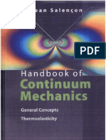 Handbook of continuum mechanics- general concepts- thermoelasticity By Jean Salençon