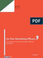Un Plan Marketing Efficace
