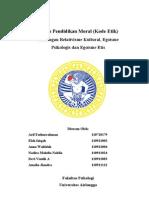 Tugas Etika Bisnis Kasus Pelanggaran Etika Profesi Auditor Internal