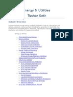 IT Energy&Utilities Tushar Seth