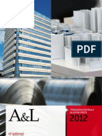 Programma editoriale e listino prezzi A&L 2012