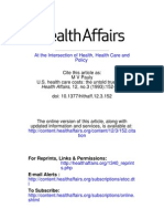 Health Affairs (1993) - Pauly - True Cost of Healthcare