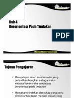 Spi396 Slide Bab 4 - Berorientasi Pada Tindakan
