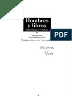050588 Rufino Blanco Fombona Hombres y Libros