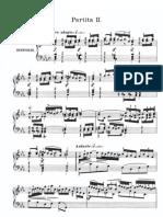 Bach-Partita No.2 BWV 826