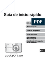 Nikon Coolpix s500 (Guia Rapida)