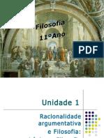 UNIDADE 1 - Capítulo IV Argumentação e Retórica