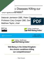 29.09.11 RSA Gallup Health Ways Debate - Speakers Presentations