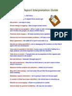 Status Report Interpretation Guide