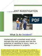 Chapter Accident Investigation
