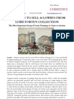 November 11 - Lord Forte's Lowry Collection