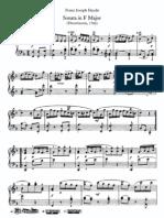 Haydn-Piano Sonate No.3