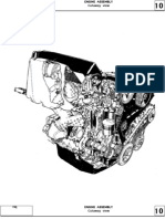 Cross section F8M F8Q engine repair (Motor diesel F8M F8Q Dacia papuc solenza 1307)