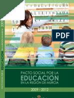 Tema 8. Pacto Social por la Educación en la Región de Murcia 2009-2012