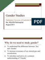3 Gender Studies