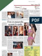 """YAMANDÙ """"NON"""" COSTA_Romina Ciuffa @ Il Messaggero"""