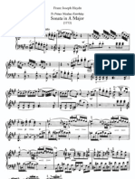 Haydn-Piano Sonate No.41