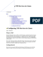Configuring NIS Services in Linux