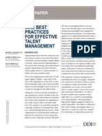 9 Best Practices for Effective Talent Management
