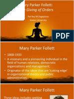 Mary Parker Follett
