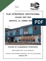 B Plan Estrategico Institucional