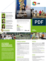Programme Junior Coopération au Dévelppement - flyer