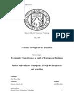 Econmic Transitiion by Aida Buljubasic