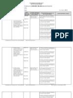 Informe de Assessment - Lenguas Extranjeras (Primer Semestre, 2009-2010)