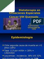 Dietoterapia en Situaciones Especiales Cáncer VIH Quemado y
