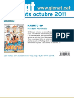 Novedades Glénat Octubre 2011 (Catalán)