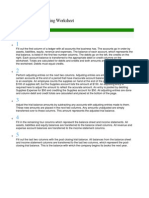 Creating An Accounting Worksheet  Letter Of Transmittal Example Proposal