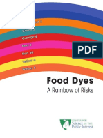 Food Dyes Rainbow of Risks