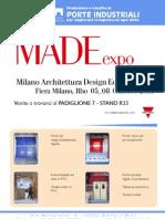 Portoni ali Made Expo 2011