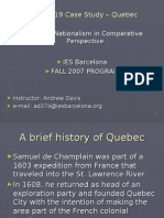 CN - Session 20 Case Study Quebec