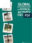 Global Recommendations on Physical Activity WHO