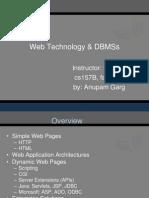 Web Technology DBMSs