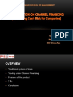 Assignment - Channel Financing