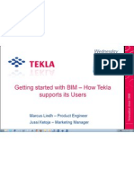 Tekla Webinar_06/06/2010_Getting Started With BIM-How TEKLA Supports Its Users