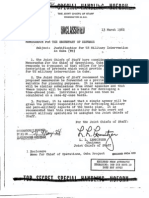 Operation North Woods Text
